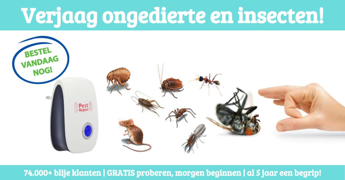 Pest Reject 2000 insecten en ongedierte verjager